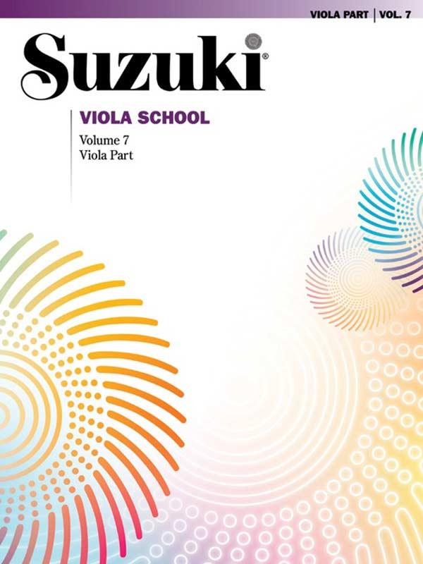 Suzuki Viola School Volume 7 (Book/CD/Piano Accomp.)