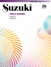Suzuki Viola School Volume 9 (Book/Book & CD/CD/Piano Accomp)