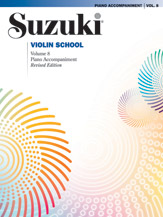 Suzuki Violin School Volume 8 (Book/CD/Piano Accomp)