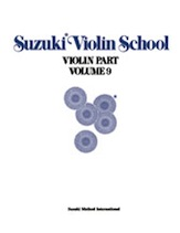 Suzuki Violin School Volume 9 (Book/Piano Accomp)