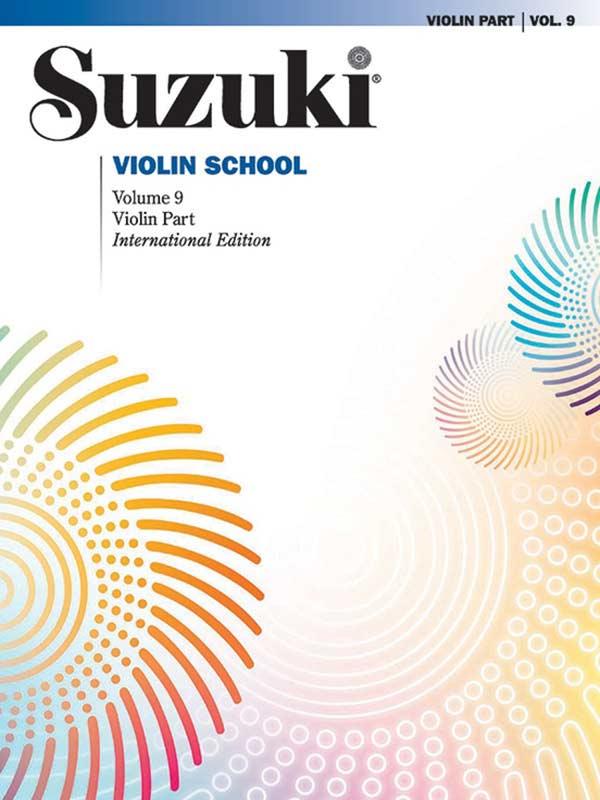 Suzuki Violin School Volume 9 (Book/Piano Accomp)