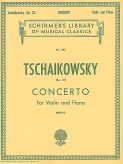 Tchaikovsky Concerto in D Major for Violin – Schirmer ed.