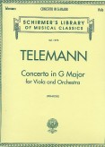 Telemann Concerto in G for Viola