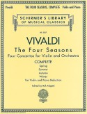 Vivaldi The Four Seasons Complete for Violin – Schirmer ed.