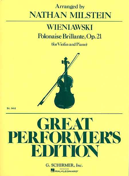 Wieniawski Polonaise Brillante for Violin