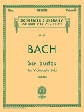 Bach six suites for cello Schirmer Ed.