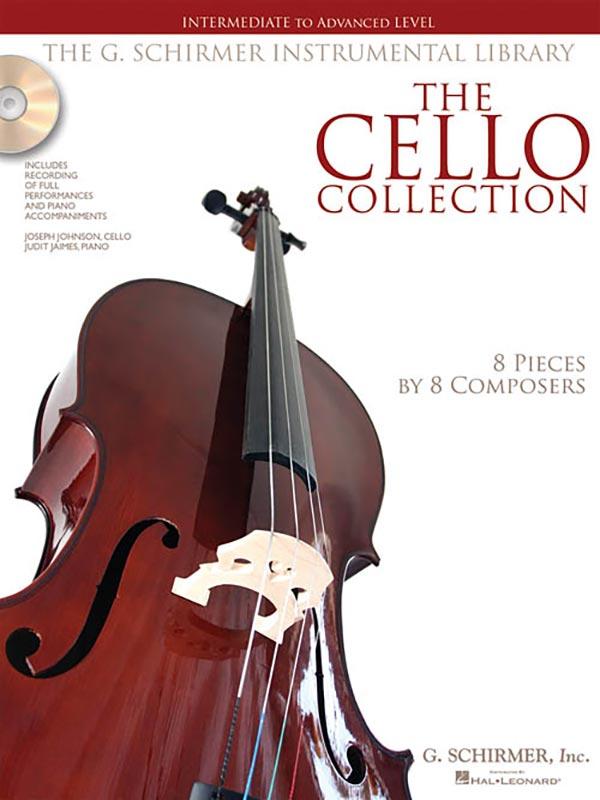 The Cello Collection Intermediate to Advanced Level - Schirmer Ed
