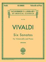 Vivaldi Six Sonatas for cello - Schirmer Ed.