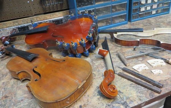 Instruments in Repair
