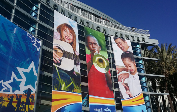 2015 NAMM Show Convention Center