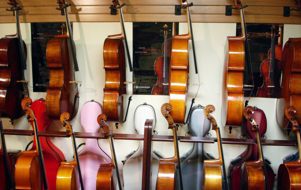 Cellos and Cello Cases