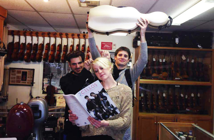 2 Cellos Visit Violin Outlet