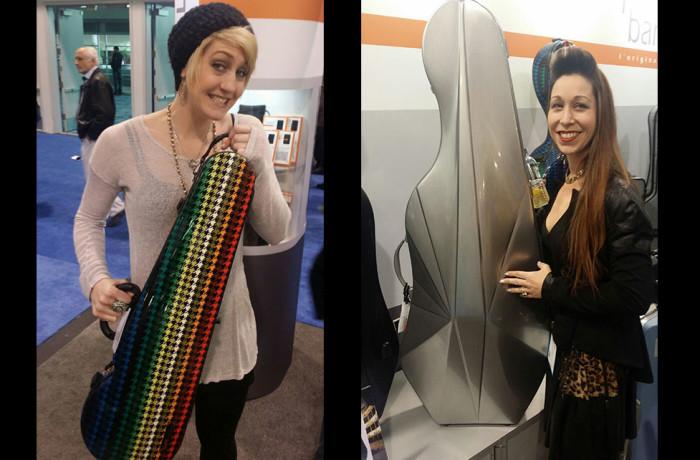 Brenna and Sabrina Find New Merchandise