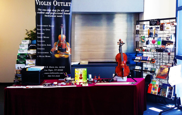 Cello Day Display