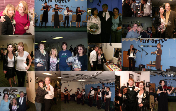 Violin Outlet Celebrates with Friends