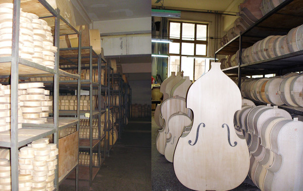 Instruments Awaiting Varnish