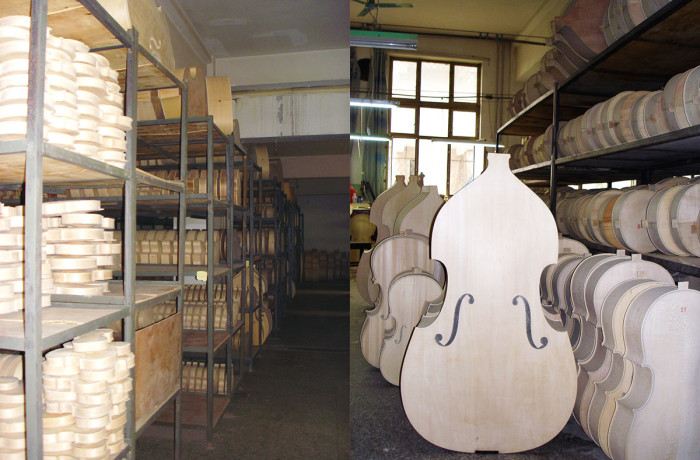 Instruments Awaiting Varnish