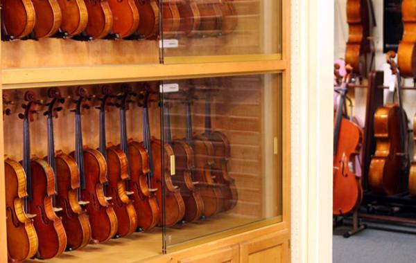 Fine Violin Cabinet