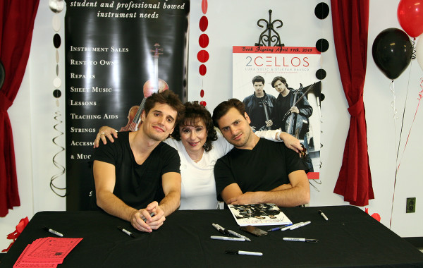 2Cellos Meet Local Cello Teacher