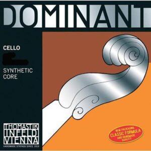 Dominant cello strings