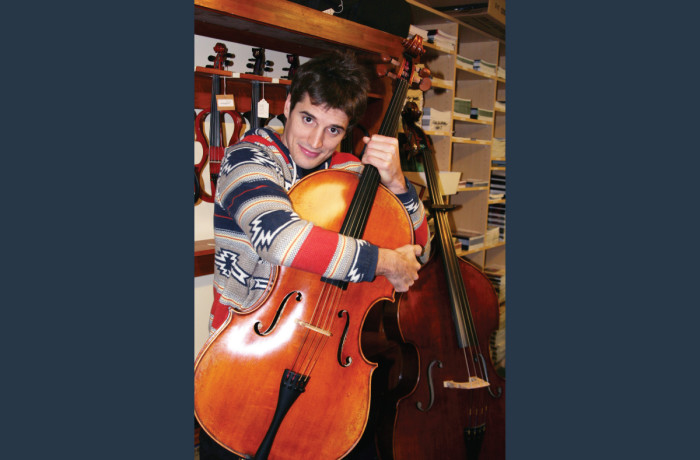 Luka's New Cello