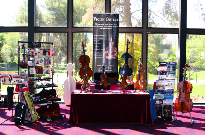 Violin Outlet's 2015 NMEA Allstate Conference Booth