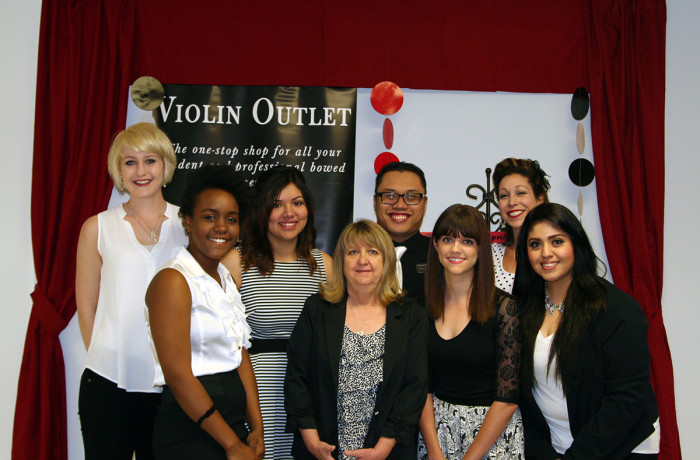 Violin Outlet's Awesome Staff!