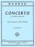 Dvorak Concerto in B minor for Cello, Opus 104 - International Ed.