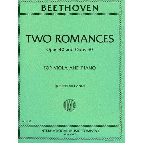 Beethoven Two Romances for Viola
