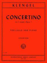 Klengel Concertino in C major for Cello, Op. 7 - International Ed.