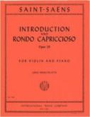 Saint-Saens Introduction & Rondo Capriccioso for Violin - International Ed.