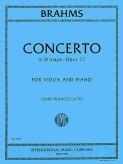 Brahms Concerto in D major for Violin, Op. 77 - International Ed.