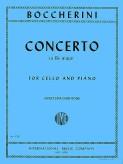 Boccherini Concerto in B flat Major for Cello - International Ed.