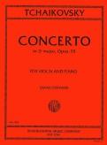 Tchaikovsky Concerto in D major for Violin, Op. 35 - International Ed.