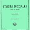 Mazas Etudes Speciales for Violin, Op. 36 No. 1- International Ed.