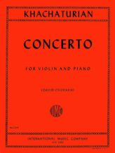Khachaturian Concerto for Violin - International Ed.