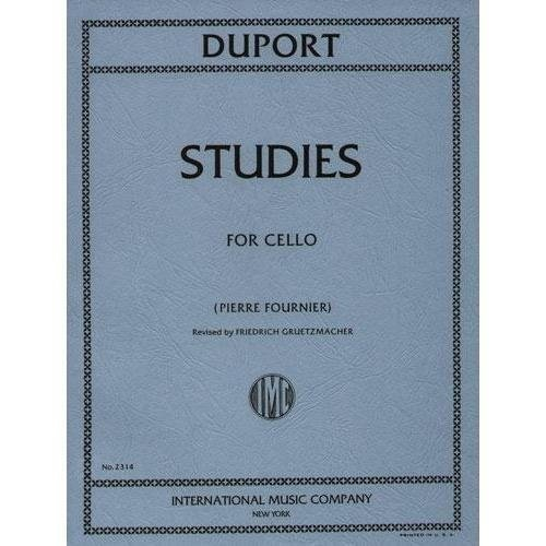 Duport 21 Studies for Cello - International Ed.