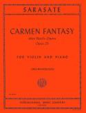 Sarasate Carmen Fantasy for Violin, Op. 25 - International Ed.