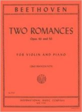 Beethoven Two Romances for Violin Op. 40 & 50 - International Ed.