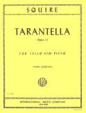 Squire Tarantella for Cello, Opus 23 - International Ed.