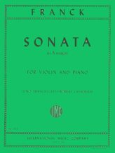 Franck Sonata in A Major for Violin - International Ed.