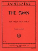Saint-Saens The Swan for Viola – International Ed.