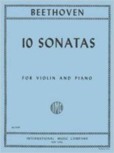 Beethoven Ten Sonatas for Violin – International Ed.