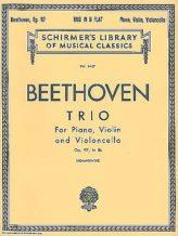 Beethoven Trio in B Flat, Op. 97 (Archduke Trio) – Schirmer Ed.