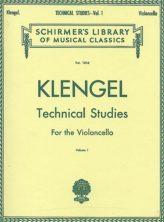 Klengel Technical studies for cello Schirmer Ed.