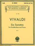 Vivaldi Six Sonatas for Bass - Scirmer Ed.