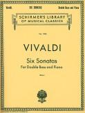 Vivaldi Six Sonatas for Bass - Scirmer Ed.