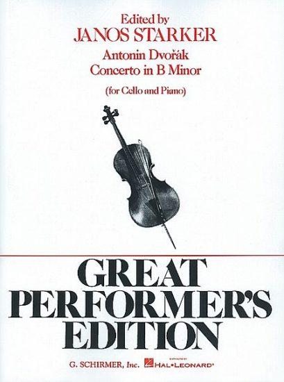 Dvorak Cello Concerto in B Minor – Schirmer ed.