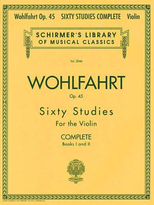 Wohlfahrt 60 Studies for violin op.45