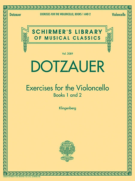 Dotzauer exercises for cello